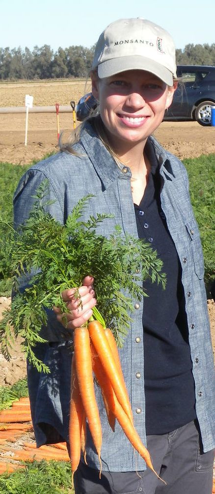 Laura Maupin Carrot Breeder