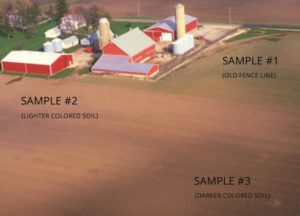 Areas For Soil Testing Sampling