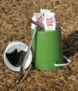 Harvested Soil Samples